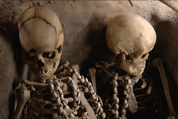Les squelettes remarquablement conservés découverts à Téviec, dans le Morbihan