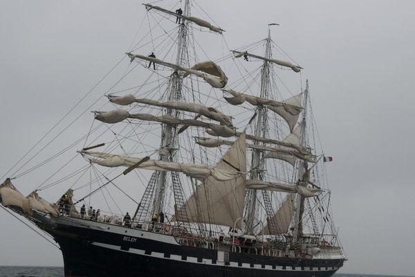 Le Belem est en révision à La Rochelle pour trois semaines.