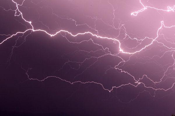 """Ce lundi 4 octobre, le département de la Haute-Corse a été placé en vigilance orange """"orages"""" et """"pluie-inondation"""" par les services de Météo France."""