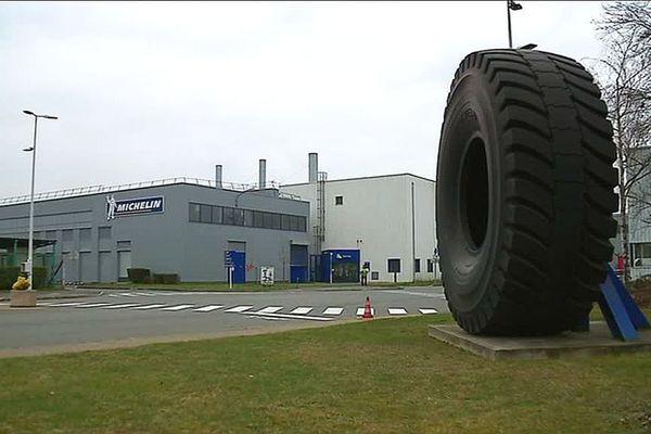 Le site Michelin de Blanzy, en Saône-et-Loire.