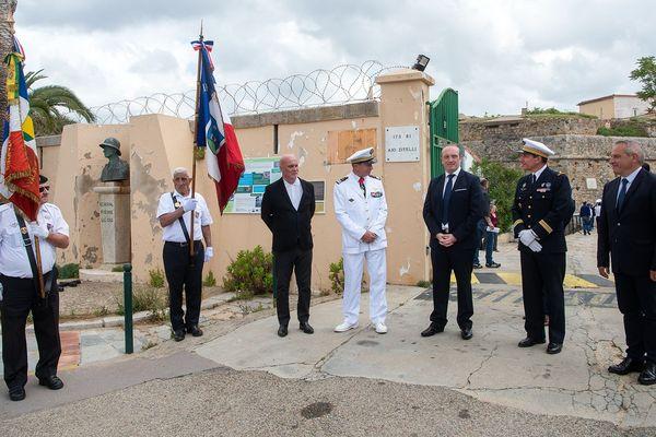 Ce vendredi 5 juin, l'armée à officiellement quitté la citadelle d'Ajaccio
