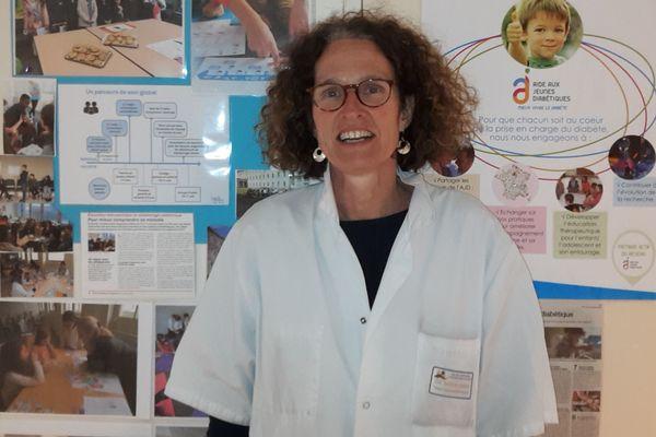 """""""Un diabète de type 1 diagnostiqué trop tard peut entraîner un coma."""" Sabine Baron, pédiatre diabétologue au CHU de Nantes."""