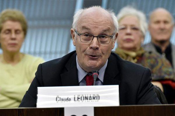Claude Léonard, Président du Conseil Départemental de la Meuse