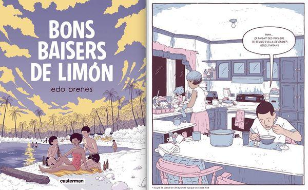 Bons baisers de Limón, de Edo Brenes. Casterman.