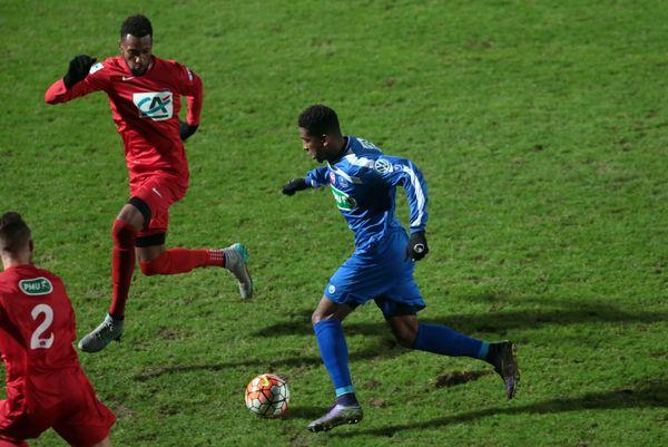 Gaëtan Missi-Mezu n'a inscrit qu'un seul but avec Valenciennes, en Coupe de France, contre Beauvais, le 5 décembre 2015