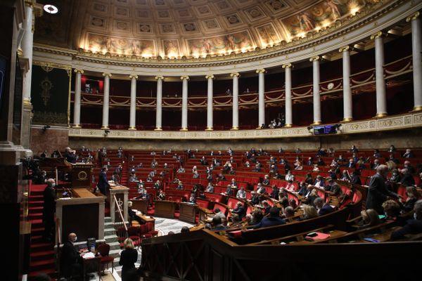 L'Assemblée nationale le 24 novembre 2020