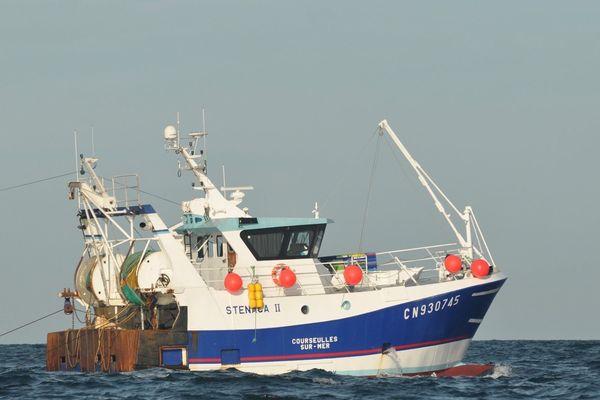 Le Sténaca 2 fait partie des rares bateaux à aller en pêche depuis le début du confinement
