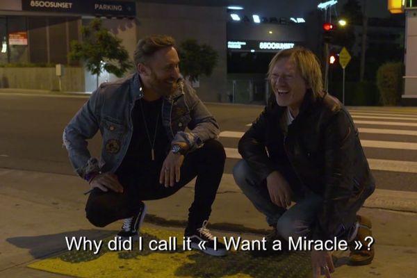 David Guetta et Fred Rister