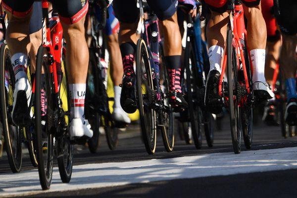Le peloton du tour de France 2020
