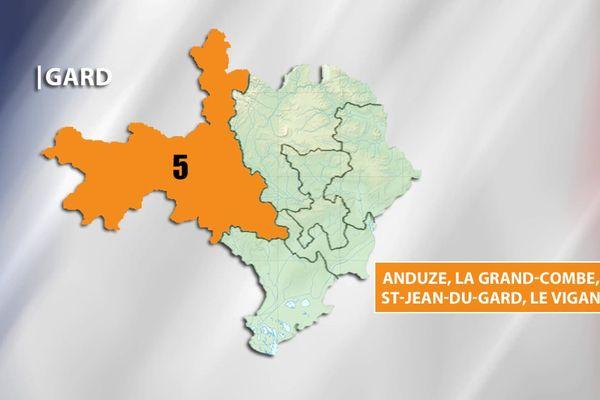 Législatives - Gard 5e circonscription
