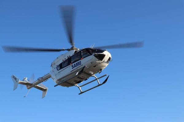 Image d'illustration d'un hélicoptère du SAMU.