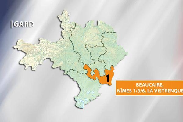 Législatives - Gard 1ère circonscription