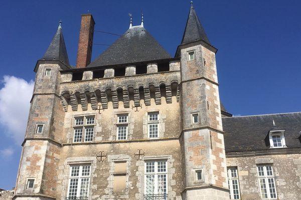 Le château de Talcy dans le Loir-et-Cher