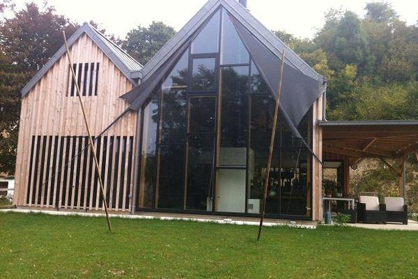 Maison contemporaine à Vernou-sur-Brenne en Touraine