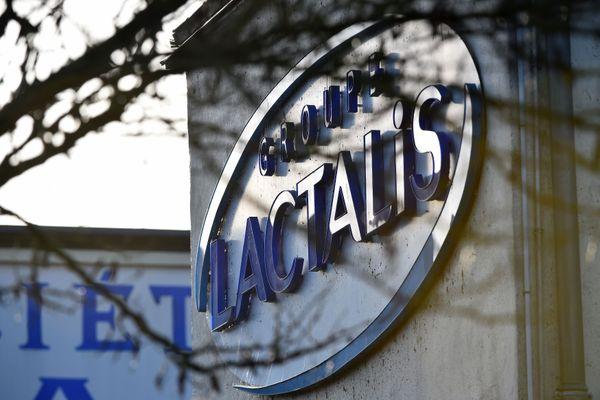 Le siège de Lactalis à Laval, janvier 2018