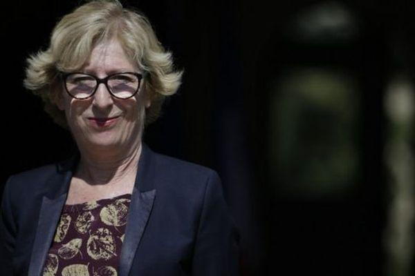 Geneviève Fioraso délègue son portefeuille de Secrétaire d'Etat chargée de l'enseignement supérieur et de la recherche à Thierry Mandon, le 17 juin 2015.