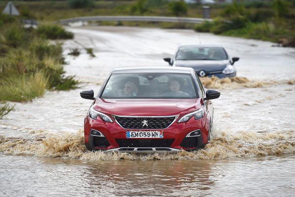 Les inondations entre Gard et Lozere - archives.