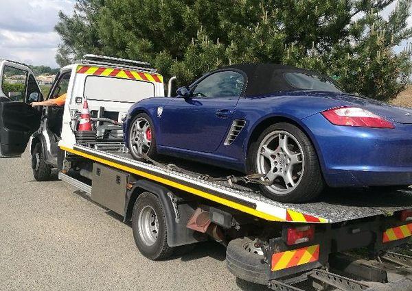 Le véhicule a été saisi.