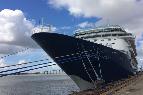 Le Marella Discovery a accosté au Terminal du Grand Ouest (TGO) dimanche 13 mai.