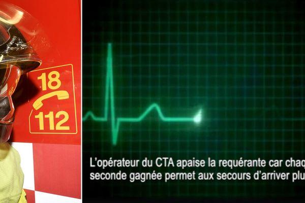 L'opérateur du 18 a guidé l'habitante de Moncheaux pendant une dizaine de minutes