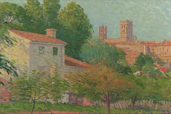 Cette oeuvre est au musée Etienne Terrus, située à Elne dans les Pyrénées-Orientales et fait partie de celles imitées par un réseau de faussaires.