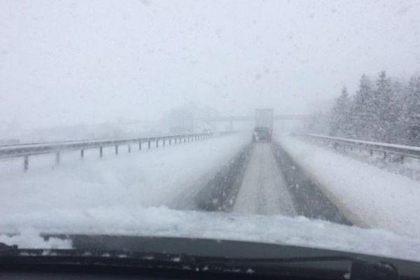 Avec la tempête Gabriel, la neige pourrait tomber même en plaine dès la soirée du 29 janvier sur toute la région Auvergne-Rhône-Alpes