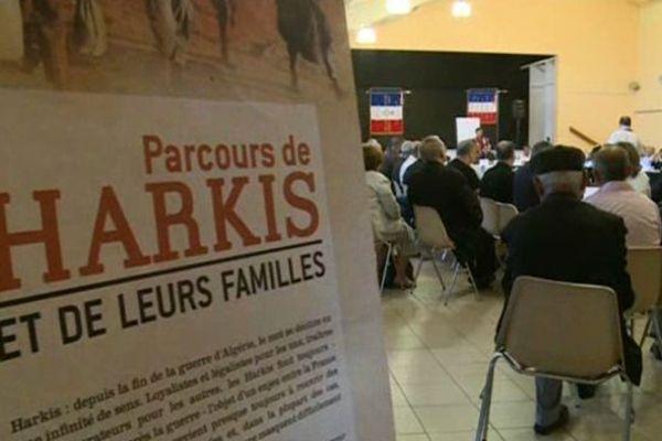 Les associations de harkis du grand sud réunies à St Laurent des arbres dans le Gard - 13 juin 2015