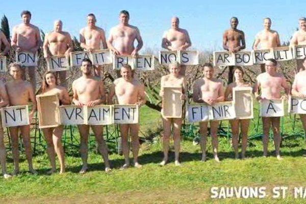 """"""" Sauvons nos arboriculteurs """", c'est le slogan de la campagne lancée par St Mamet sur Facebook."""