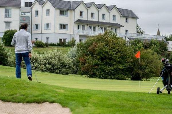 Le golf d'Arras, ex-propriété de Gervais Martel et FSO.