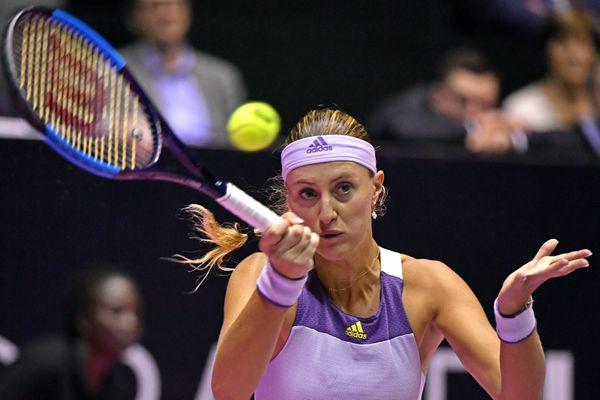 Tennis : rentrée perdante pour Kristina Mladenovic, numéro 1 française, à Palerme