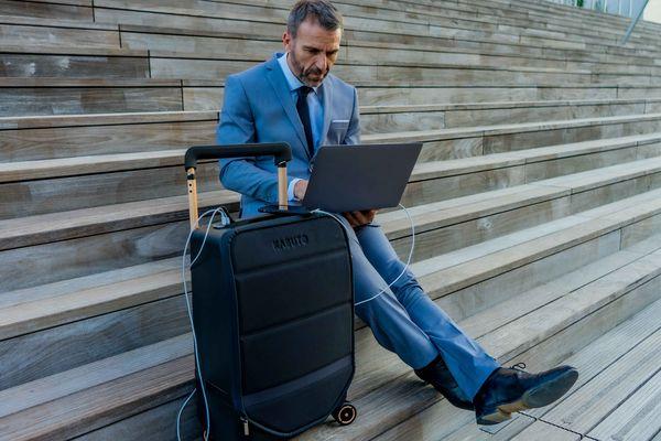 Une valise innovante conçue par la start-up Kabuto