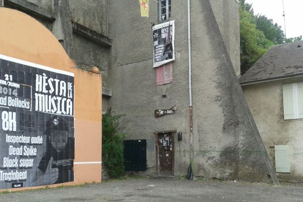 Lieu de l'affrontement hier entre CRS et fêtards lors de la fête de la musique à Pau.