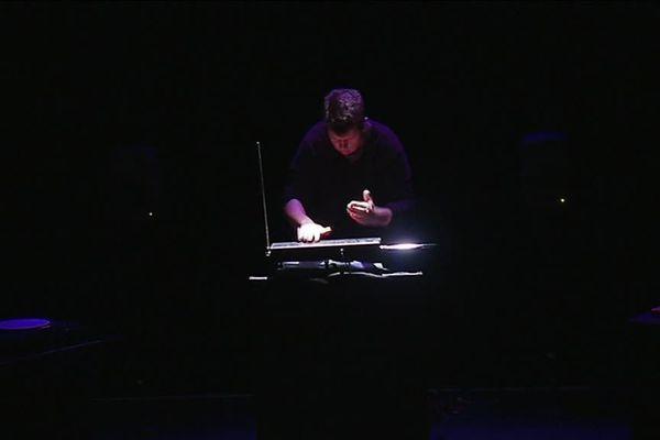 Répétition du « toucher » joué par Pierre Andreis le 4 décembre 2018 à l'Entre Pont