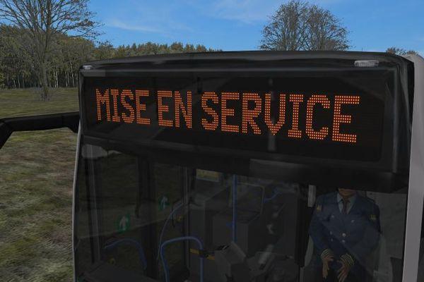 Les girouettes sont utilisées sur tous les bus en Europe pour informer les usagers, seul contact entre le conducteur et ses passagers depuis l'extérieur.
