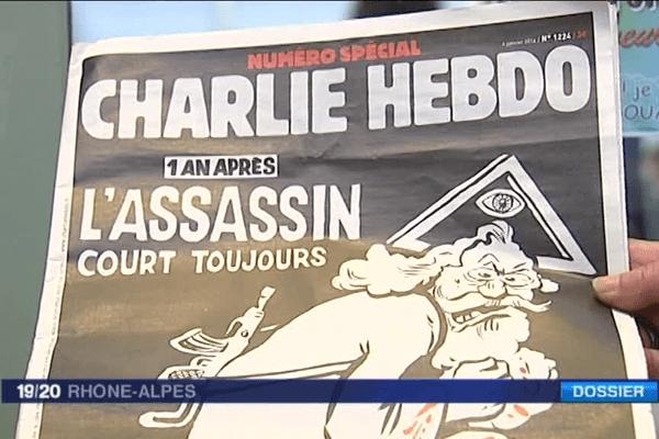 Charlie Hebdo : un an après l'attaque, le numéro anniversaire !