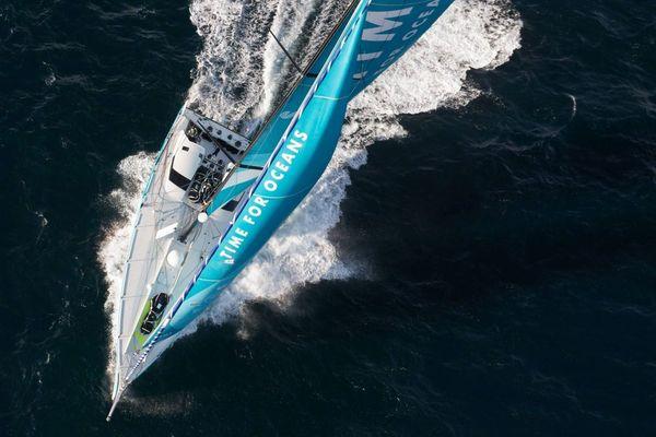 Time for Oceans, le voilier de Stéphane Le Diraison