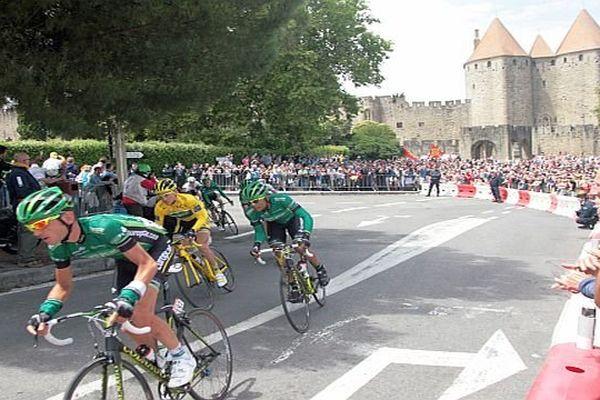 Carcassonne - le Tour de France en 2011