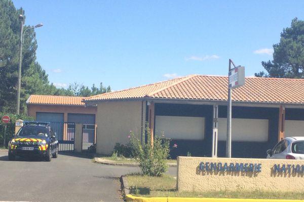 La gendarmerie où a eu lieu l'audition du jeune homme de 24 ans