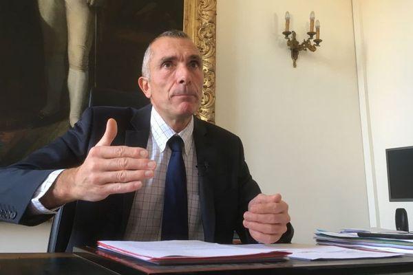 Le procureur général près la cour d'appel de Bastia, Franck Rastoul
