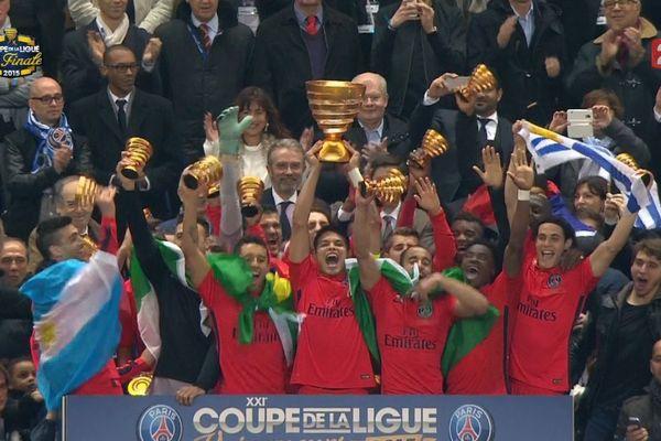Les Parisiens remportent la cinquième Coupe de la Ligue de leur histoire.