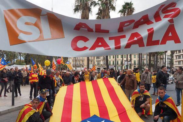 Manifestation en faveur du pays catalan archives