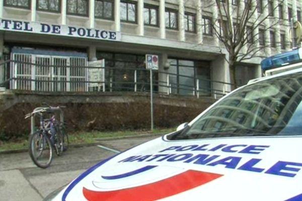 Illustration Hôtel de Police de Grenoble.