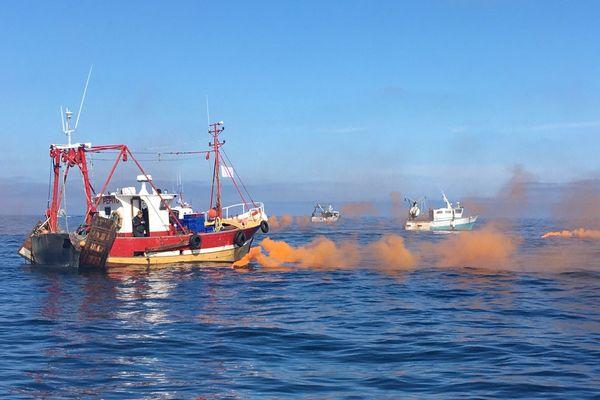 """Pour les pêcheurs de la Baie, le futur parc éolien, """"c'est la mort de notre activité"""""""