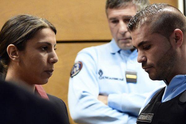 Inès Farhat, 22 ans, encourt la réclusion criminelle à perpétuité pour complicité dans le cas du premier homicide, ce qu'elle nie.