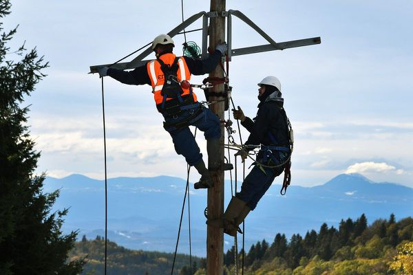 A 13 heures ce mercredi 21 octobre, 7 000 foyers étaient toujours privés d'électricité en Auvergne, en raison de la tempête Barbara. (Photo d'illustration)