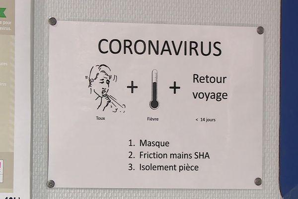 Consignes aux voyageurs concernant le coronavirus