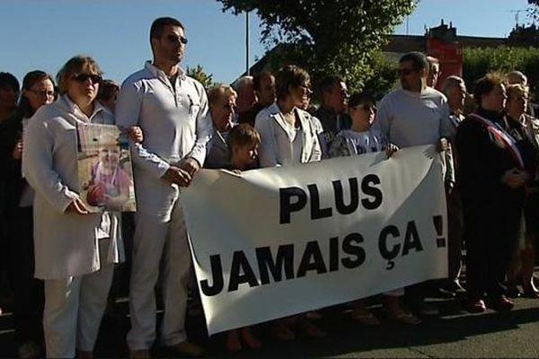 Marche blanche à Montceau en mémoire de Méline, ce jeudi 10 septembre