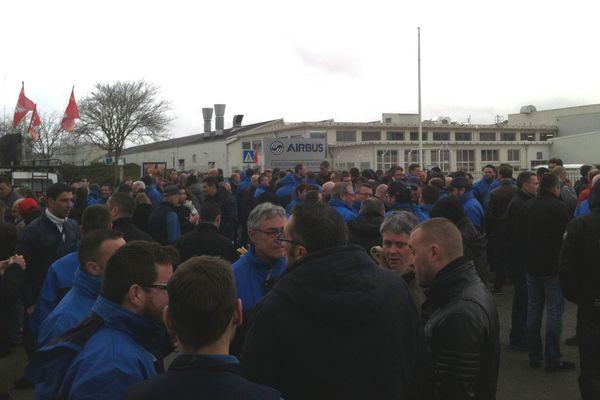 Les salariés d'Airbus opposés au pointage en bleu de travail