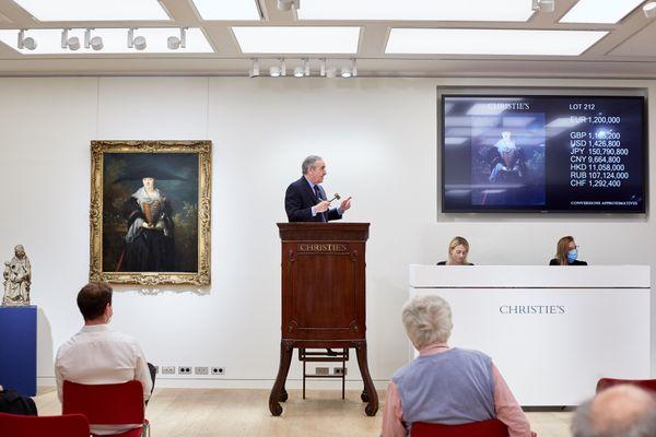 La vente de La Belle Strasbourgoise s'est déroulée le 15 septembre chez Christie's à Paris