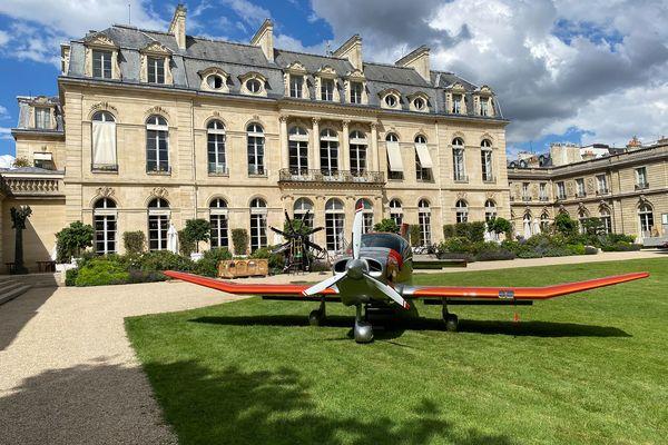 L'avion sera l'une des stars de l'exposition à l'Élysée dédiée aux produits fabriqués en France.